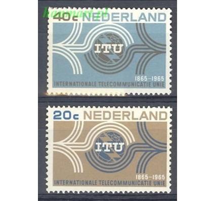 Znaczek Holandia 1965 Mi 840-841 Czyste **