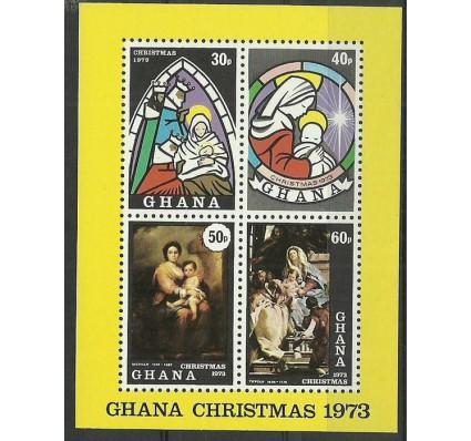 Znaczek Ghana 1973 Mi bl53 Czyste **