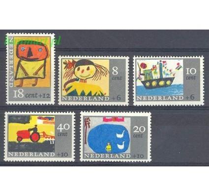 Znaczek Holandia 1965 Mi 850-854 Czyste **