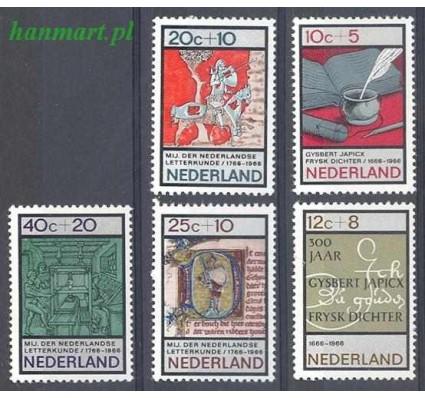 Holandia 1966 Mi 858-862 Czyste **