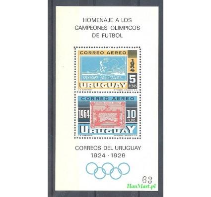 Znaczek Urugwaj 1965 Mi bl 6 Czyste **