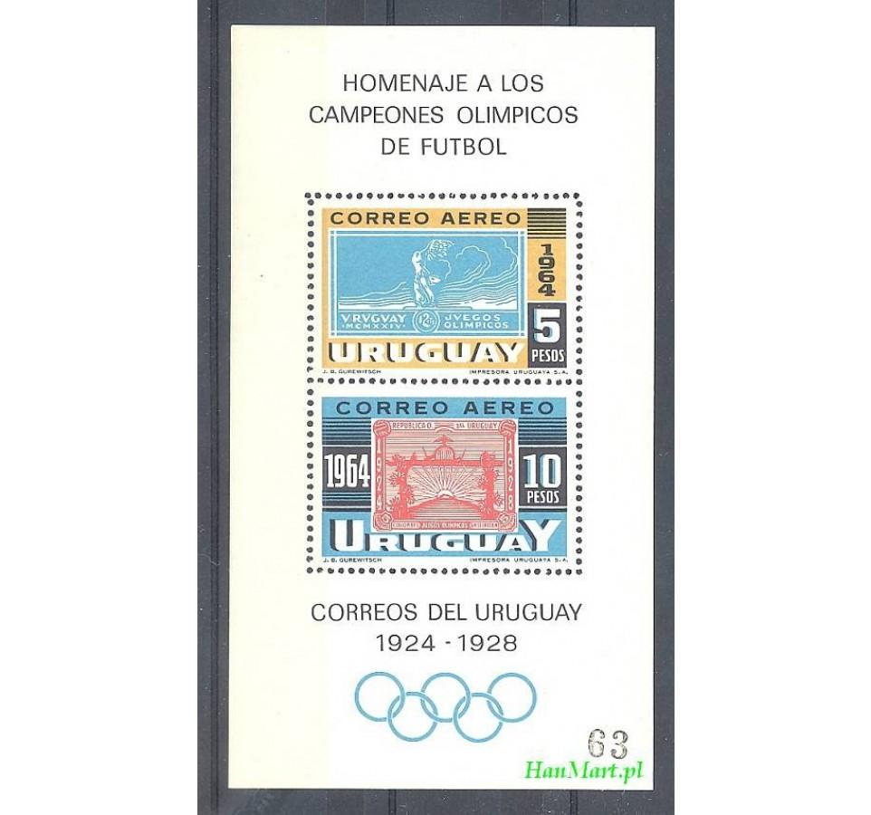 Urugwaj 1965 Mi bl 6 Czyste **