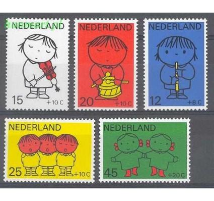 Holandia 1969 Mi 928-932 Czyste **