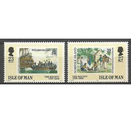 Znaczek Wyspa Man 1989 Mi 402-403 Czyste **