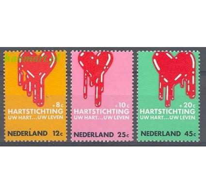 Holandia 1970 Mi 948-950 Czyste **