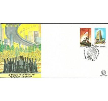 Znaczek Indonezja 1990 Mi 1358-1359 FDC