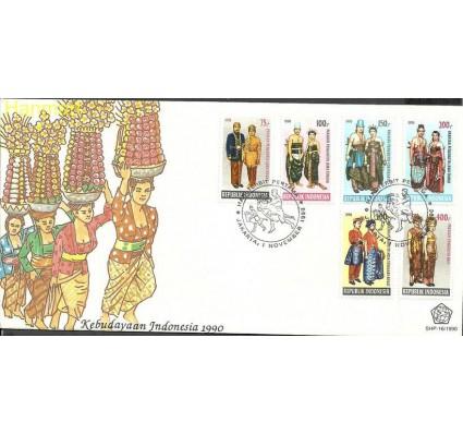 Znaczek Indonezja 1990 Mi 1366-1371 FDC