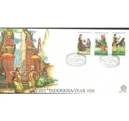 Znaczek Indonezja 1991 Mi 1372-1374 FDC