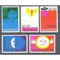 Holandia 1971 Mi 969-973 Czyste **