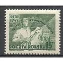 Polska 1949 Mi 541 Fi 503 Czyste **