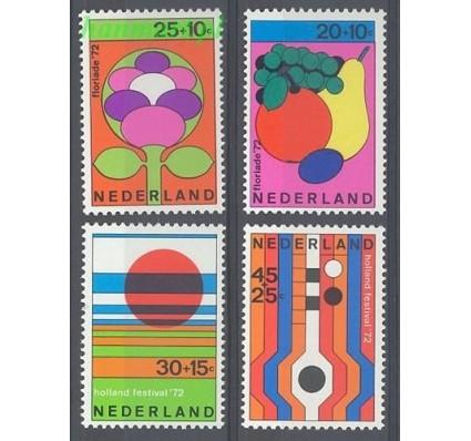 Holandia 1972 Mi 983-986 Czyste **