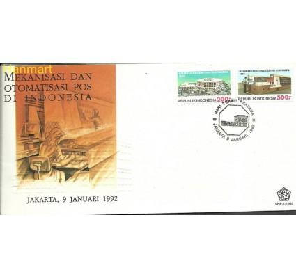 Znaczek Indonezja 1992 Mi 1404-1405 FDC