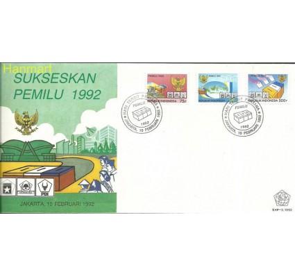 Znaczek Indonezja 1992 Mi 1410-1412 FDC
