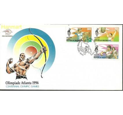 Znaczek Indonezja 1996 Mi 1620-1622 FDC