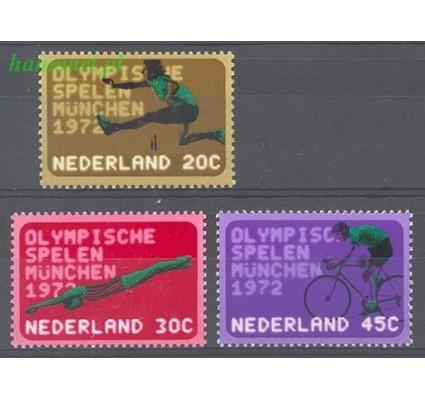 Holandia 1972 Mi 991-993 Czyste **