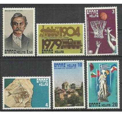 Znaczek Grecja 1979 Mi 1354-1359 Czyste **