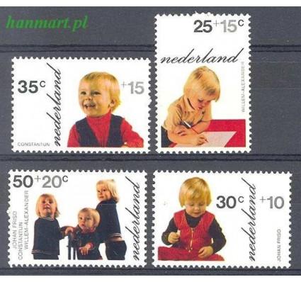 Znaczek Holandia 1972 Mi 1001-1004 Czyste **