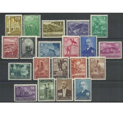 Znaczek Turcja 1942 Mi 1113-1132 Czyste **