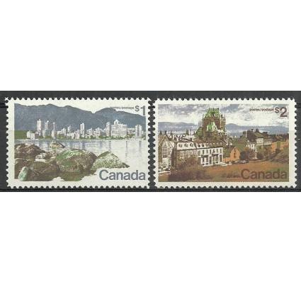 Znaczek Kanada 1972 Mi 496-497x Czyste **