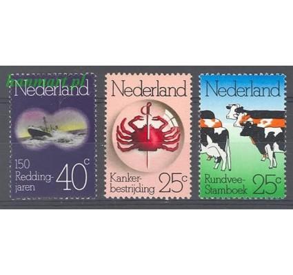 Holandia 1974 Mi 1032-1034 Czyste **