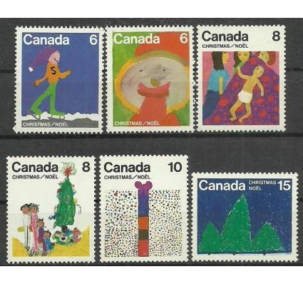 Znaczek Kanada 1975 Mi 610-615 Czyste **