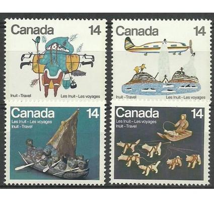 Znaczek Kanada 1978 Mi 704-707 Czyste **