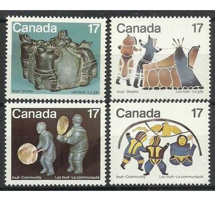 Znaczek Kanada 1979 Mi 746-749 Czyste **
