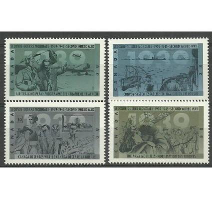 Znaczek Kanada 1989 Mi 1157-1160 Czyste **