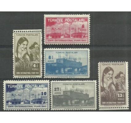 Znaczek Turcja 1943 Mi 1155-1160 Z podlepką *