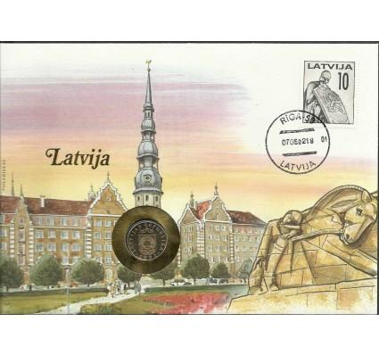 Znaczek Łotwa 1992 Mi 326 FDC