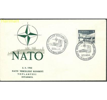 Znaczek Turcja 1959 Mi 1697 FDC