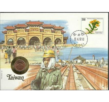 Znaczek Tajwan 1991 Mi 2016 FDC