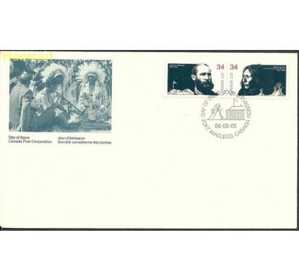 Znaczek Kanada 1986 Mi 1008-1009 FDC