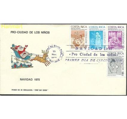 Znaczek Kostaryka 1975 Mi zwa 69-72 FDC