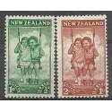 Nowa Zelandia 1942 Mi 273-274 Czyste **