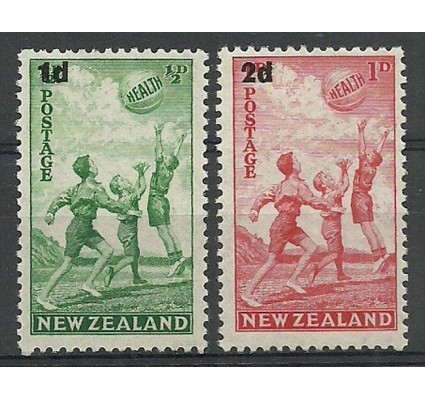 Znaczek Nowa Zelandia 1939 Mi 251-252 Z podlepką *