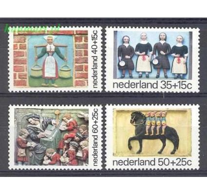 Znaczek Holandia 1975 Mi 1059-1062 Czyste **
