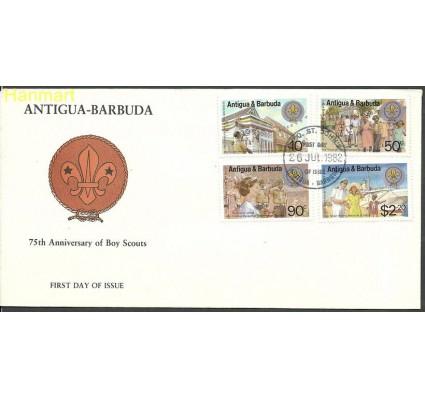 Znaczek Antigua i Barbuda 1982 Mi 678-681 FDC