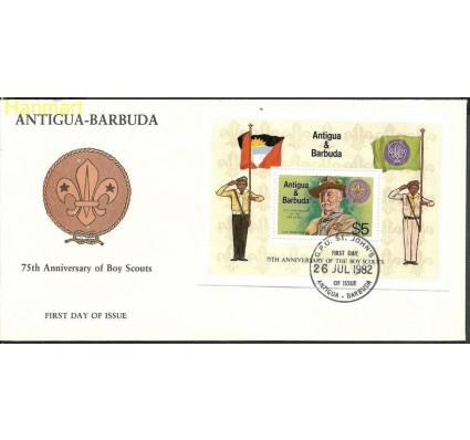 Znaczek Antigua i Barbuda 1982 Mi bl64 FDC