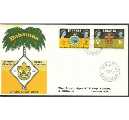 Znaczek Bahamy 1967 Mi 272-273 FDC