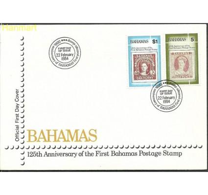 Bahamy 1984 Mi 559-560 FDC