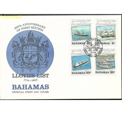 Znaczek Bahamy 1984 Mi 561-564 FDC
