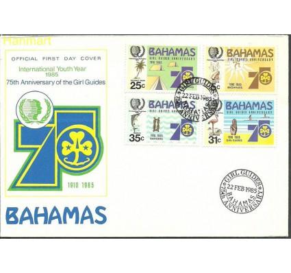 Znaczek Bahamy 1985 Mi 586-589 FDC