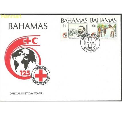 Znaczek Bahamy 1989 Mi 699-700 FDC