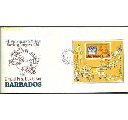 Znaczek Barbados 1984 Mi bl18 FDC