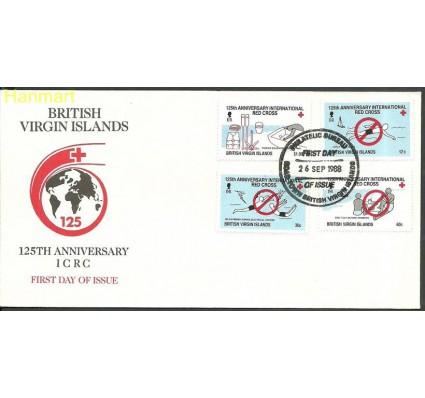 Znaczek Wyspy Dziewicze 1988 Mi 626-629 FDC