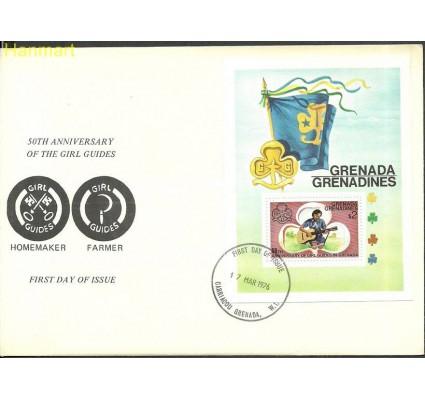Znaczek Grenada i Grenadyny 1976 Mi bl19 FDC