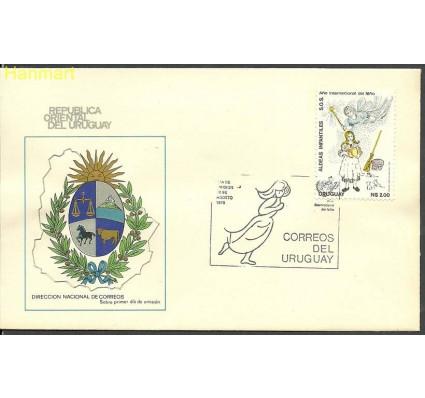 Znaczek Urugwaj 1979 Mi 1552 FDC