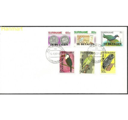 Znaczek Surinam 1987 Mi gut1420-1421 FDC