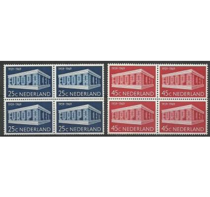 Znaczek Holandia 1969 Mi 920-921 Czyste **